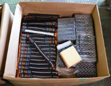 Vehicle parts - wiper blades, air filters - see picture for itinerary for model numbers an