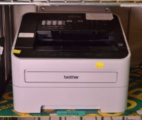 Brother Model Fax-2840 Printer