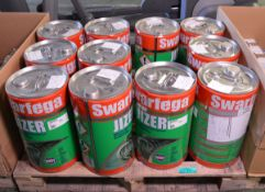 Swarfega Jizer water rinsable parts degreaser - 25 litre tins - 11 tins