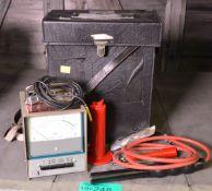 Wallis Hivolt- DCM 30/4A Voltmeter Cased