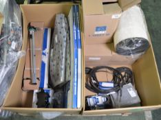 Vehicle parts - ring gear, air filters, throttle cables, fule level sensor, multi rigged b