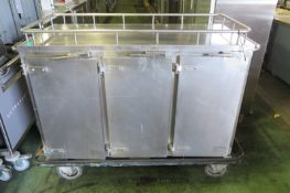 Corsair Heated Trolley - 1500mm wide x 700mm deep x 1200mm high