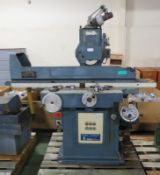 Jones & Shipman 1400AR Model D90SD Surface Grinder - with oil tanks & hydraulic pump