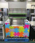 Refrigerated Display Unit (AS SPARES) - L1150 x D760 x H1840mm