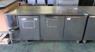 Precision 3 door refrigeration unit - 1820mm x 670mm x 870mm