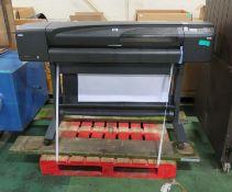 HP Designjet 800 Large Format Printer - L1665 x D700 x H1100mm