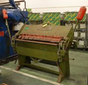 F.J.Edwards Besco - Truefold Metal Box Pan Folder - 4/14 B&R - L1200 x W800 x H1500mm