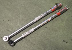2x Norbar SL3 Torque Wrenches 45-250 ibf ft