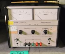 Farnell Type L30-5 Stabilised Power Supply 0030v 5A