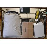 2x Canvas Chairs, Telescopic Tripod, Metal Box Document Heater Space 3/4 Clear PVC Tube, 2