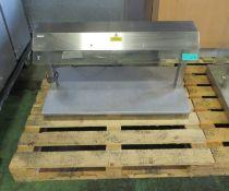 Lincat IP21B A001 Hot Plate Counter L1000mm x W500mm x H590mm