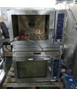 2x Lainox combi ovens - AS SPARES OR REPAIRS