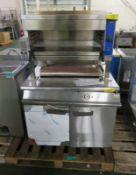 Electrolux multigrill unit, 2 door warming unit (as spares)