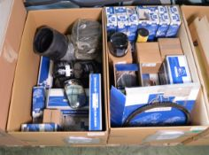 Vehicle parts - U-bolt, air dryer cartridges, air dryer kits, ball joints, brake cylinder,