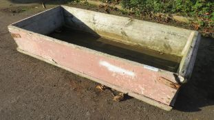Wooden Tub - For Mixing Or Salting Pig Joints