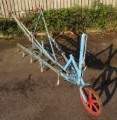 Horse Drawn Twelve Tine Adjustable Cultivator