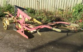 John Huxtable & Co Barnstaple - Single Furrow Turnover Horse Plough