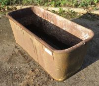 Matterson & Co - Bedale - Yorkshire - Cast Iron Water Trough