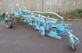 Ransomes Four Furrow Trailer Plough