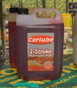 2x Carlube 2-Stroke Motorcycle Oil - 5L