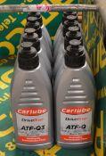 4x Carlube ATF-Q 1L, 1x Carlube ATF-Q Plus 1L, 2x Carlube ATF-Q3 1L, 1x Carlube ATF-G 1L