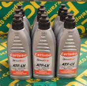 9x Carlube ATF-LV Automatic transmission fluid - 1L
