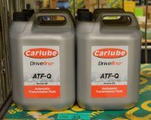 4x Carlube Driveline ATF-Q Automatic transmission fluid - 5L
