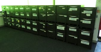 24x Howarth 2 Drawer Storage Cabinet. No Keys Included.
