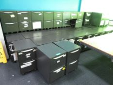48x Howarth 2 Drawer Storage Cabinet. No Keys Included.