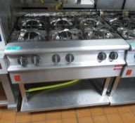 Falcon G3121 Gas Boiling Top 6 Burner