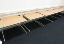 12x Individual Test/Learning Desks