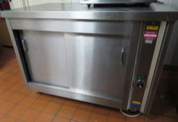 Hot Cupboard - Plain Top Electric Mobile