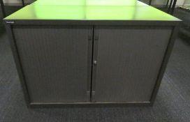 Triumph Tambour Office Storage Cabinet.