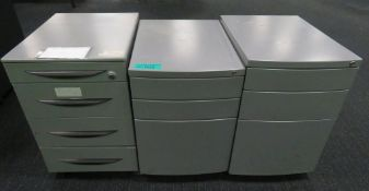 3x Various Office Cabinets