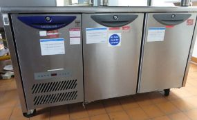 Williams HO2U Fridge Counter 2 Door