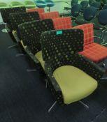 4x Padded Bucket Chairs.