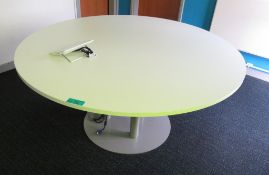 Circular Meeting Room Table.
