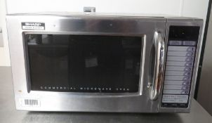 Sharp 1000W R-21ATP Microwave