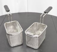 2x Electrolux Single Portion Pasta Baskets for Automatic Pasta Cooker - 115x163x123mm - BRAND NEW