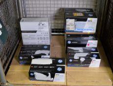 2x HP LaserJet 410X Print Cartridges - Cyan, 2x HP LaserJet 410X Print Cartridges - Yellow
