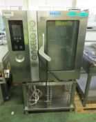 Angelo Po FX101G3-CPMO Gas Combi Oven with Stand - L920 x W880 x H1620mm