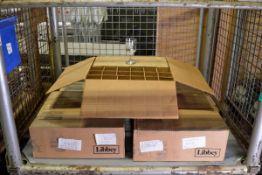 Libbey Lexington Goblet Glasses 325ml (approx. 160) - 4 boxes of 36. 1 part box of 20