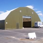 Containerised Rubb Building assembly - 21 x 12 x 3m NV - will require hiab to load due to weight