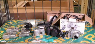 8x Digital cameras - Nikon, Olympus, Canon