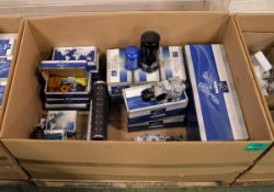 Vehicle parts - headlight, kingpin kits, ball joints, trailer brake valves - see pictures