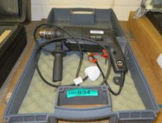 Black and Decker Drill BD230R Wired, accessories with case