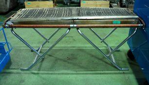 Cinders Slimfold TG160 Propane Gas BBQ - L1700 x W660 x H800mm