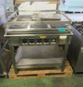 Kempsafe Naval Kitchen 5-Hotplate Unit - L900 x W870 x H980mm