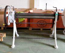 Morgan Heavy Duty Metal Roller/Bender - L2100 x W980 x H1260mm