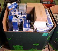 Vehicle parts - shock absorbers, ball joints, gaskets, fuel & air filters - see picture fo
